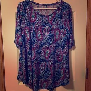 Chicos Ultimate Tee Women's Top size 2
